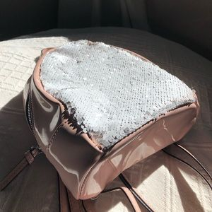 Cute double sided sequin backpack